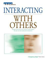 Cover of: Interacting With Others