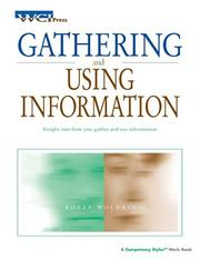 Cover of: Gathering And Using Information