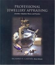 Cover of: Professional Jewelry Appraising | Richard H. Cartier