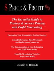 Price & Profit by William Berends