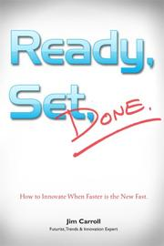 Cover of: Ready, Set, Done | Carroll, Jim