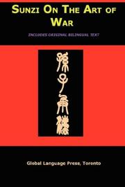 Cover of: Sun Tzu on the Art of War: The Oldest Military Treatise in the World (Sunzi for Language Learners, Volume 1)