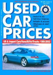 Cover of: Vmr Standard Used Car Prices