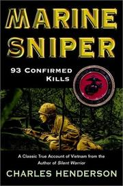 Cover of: Marine Sniper | Charles W. Henderson