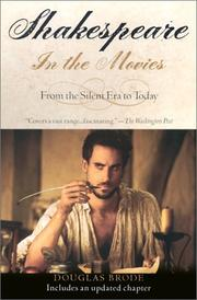 Cover of: Shakespeare in the movies