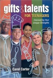 Cover of: GIFTS & TALENTS FOR TEENAGERS