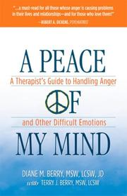 Cover of: A Peace of My Mind | Diane M. Berry