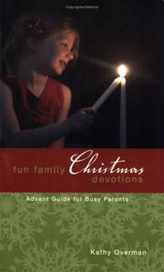 Cover of: Fun Family Christmas Devotions | Kathy Overman