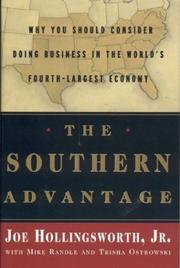 Cover of: The Southern Advantage | J. A. Hollingsworth Jr.