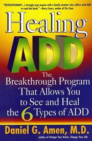 Cover of: Healing ADD