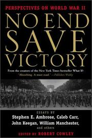 Cover of: No End Save Victory | Various