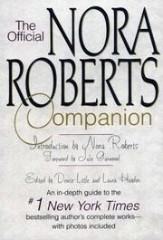 Cover of: The official Nora Roberts companion |