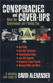 Cover of: Conspiracies and cover-ups