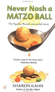 Cover of: Never Nosh a Matzo Ball