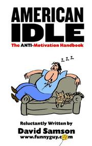 Cover of: American Idle