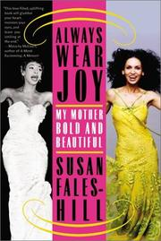 Cover of: Always wear joy | Susan Fales-Hill