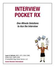 Cover of: Interview Pocket RX | Laura A. DeCarlo