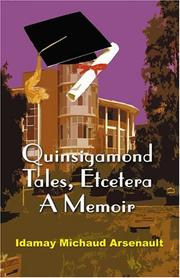 Cover of: Quinsigamond Tales, Etcetera