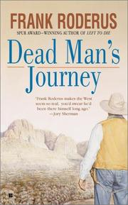 Cover of: Dead man's journey