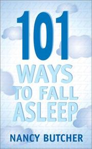 Cover of: 101 ways to fall asleep