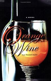 Cover of: Orange Wine |