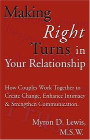 Cover of: Making Right Turns in Your Relationship