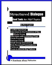 Cover of: Structured Dialogue