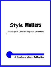 Cover of: Style Matters