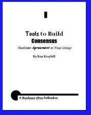 Cover of: Tools to Build Consensus