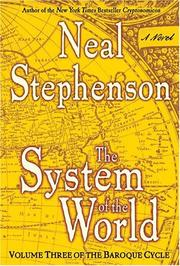 Cover of: System of the World: The Baroque Cycle #3 (The Baroque Cycle)