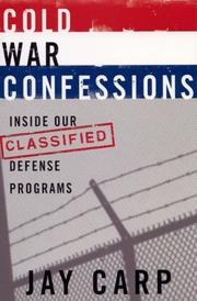 Cover of: Cold War Confessions | Jay Carp