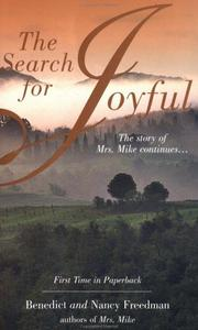 Cover of: The Search for Joyful | Benedict Freedman