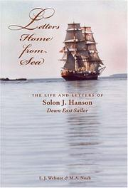 Letters Home from Sea by L.J Webster and M.A. Noah