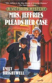 Cover of: Mrs. Jeffries pleads her case