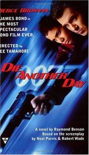 Cover of: Die another day