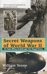 Cover of: Secret Weapons of World War II