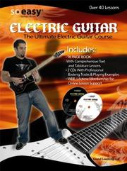 Cover of: Ultimate Electric Guitar Course (So Easy Electric Guitar) (So Easy Electric Guitar) | John McCarthy