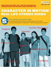 Cover of: Character in Motion! (Real Life Stories Series, 5th Grade Teacher