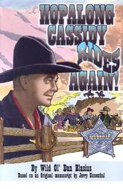 Hopalong Cassidy Rides Again (Hopalong Cassidy Novel) by Dan Blasius