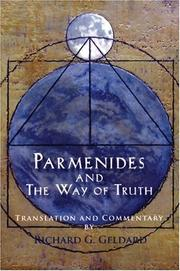 Cover of: Parmenides and the way of truth