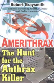 Cover of: Amerithrax | Robert Graysmith