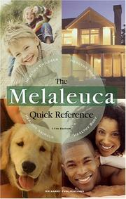 Cover of: Melaleuca Quick Reference, 11th Edition