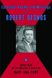 Cover of: Essential Poems and Writings of Robert Desnos