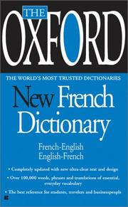 Cover of: The Oxford New French Dictionary | Oxford University Press