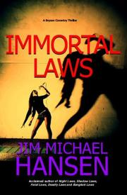 Cover of: Immortal Laws | Jim Michael Hansen