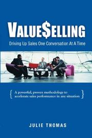 Cover of: ValueSelling