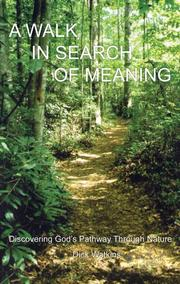 Cover of: A Walk in Search of Meaning | Dick Watkins