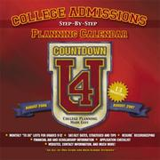 Cover of: Step-by-Step College Admissions Planning Calendar (Aug. 2006 - Aug. 2007) | Christine J. Robinson, Rebecca S. Stoughton Marilyn J. Kaufman