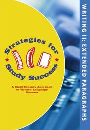 Cover of: Strategies for Study Success, Extended Paragraphs | Emily Levy