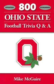 Cover of: 800 Ohio State Football Trivia Q & A